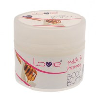 Body Butter Milk & Honey 200ml (parabens free)