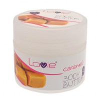 Body Butter Caramel 200ml (parabens free)