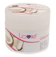 Body Butter Coconut 200ml (parabens free)
