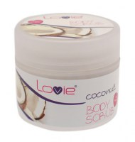 Body Scrub Coconut 200ml (parabens free)