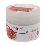 Body Scrub Ρόδι 200ml (parabens free)_product