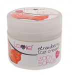 Body Scrub Παγωτό Φράουλα 200ml (parabens free)_product